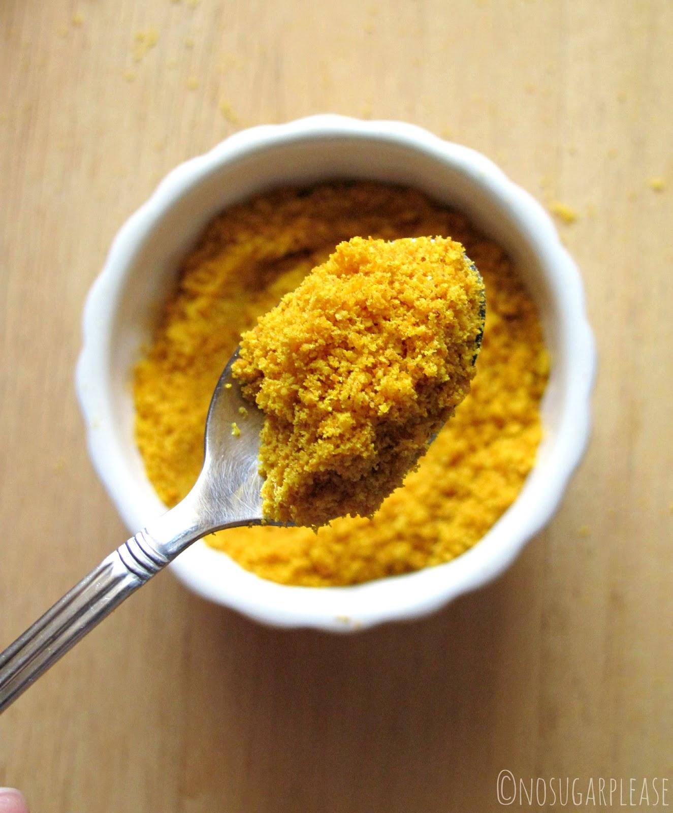 polvere buccia arancia