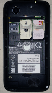 Cara flash Lenovo a369i row 111 dan seterusnya