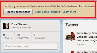 lakukan konfirmasi pada email anda