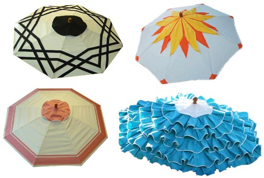 Modern Home Design Ideas By Honoriag Shade Yourself From The Sun Gorgeous Patterned Patio Umbrellas