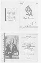 IMMAGINE COMMEMORATIVA DEL 1° ANNIVERSARIO DI FONDAZIONE DEL S.A.F.