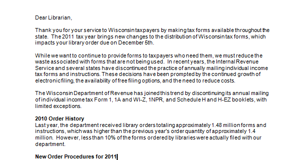 Retiring Guys Digest Wisconsin Department Of Revenue Dear