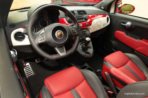 Mopar Fiat 500 Abarth Scorpion Interior