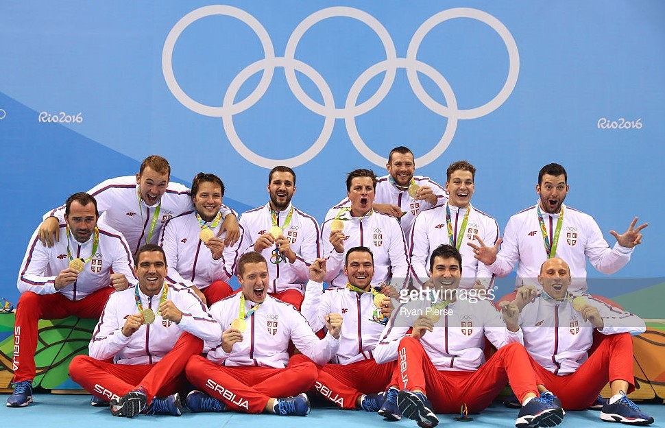 Serbia - Olympic winner Men, Rio 2016