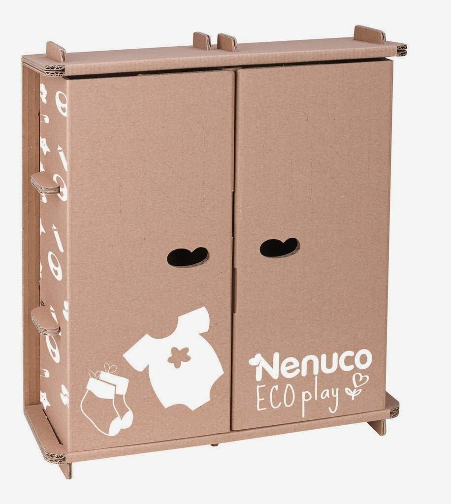 Aparador Wengue Barato ~ Libros y Juguetes 1deMagiaxfa JUGUETES NENUCO Eco Play El armario para jugar a vestir