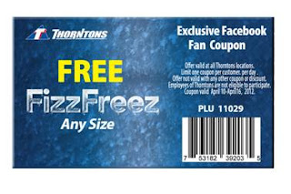 Free Free Fizz Freez at Thorntons