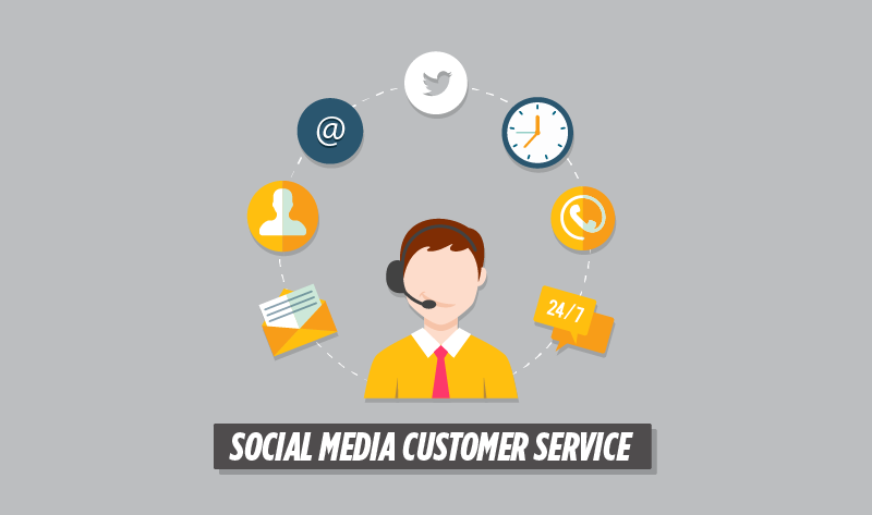 Improving the Customer Experience with #SocialMedia - #infographic
