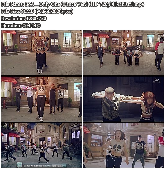 Download MV BoA () Only One (Dance Version) (HD 720p)