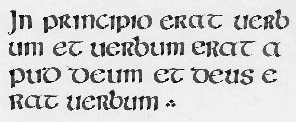 Evoluzione Della Scrittura Occidentale Sguardo Sul Medioevo