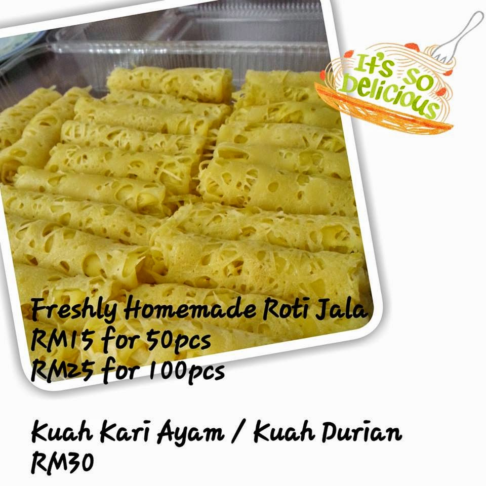Freshly Made Roti Jala