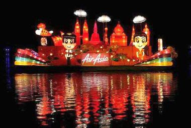 Air Asia Float Parade