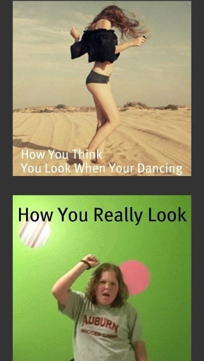 Dancing Expectation And Reality
