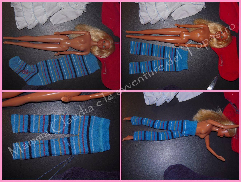Favoloso Mamma Claudia e le avventure del Topastro: Vestiti per Barbie con  HS06