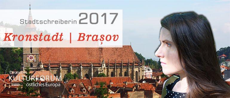 Stadtschreiberin Kronstadt/Brașov/Brassó 2017