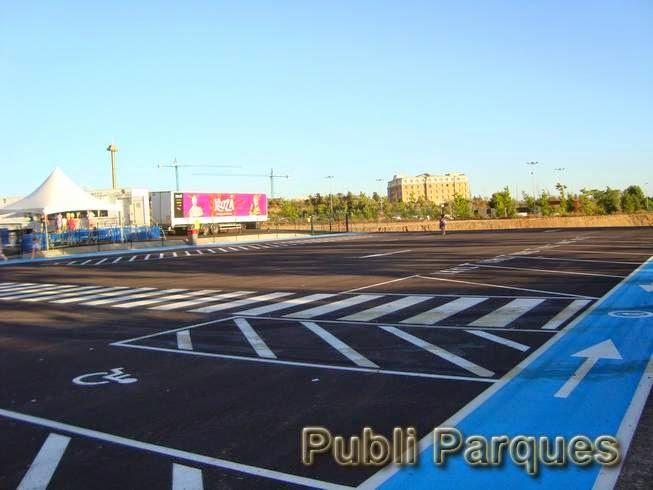 Parking Cirque du Soleil