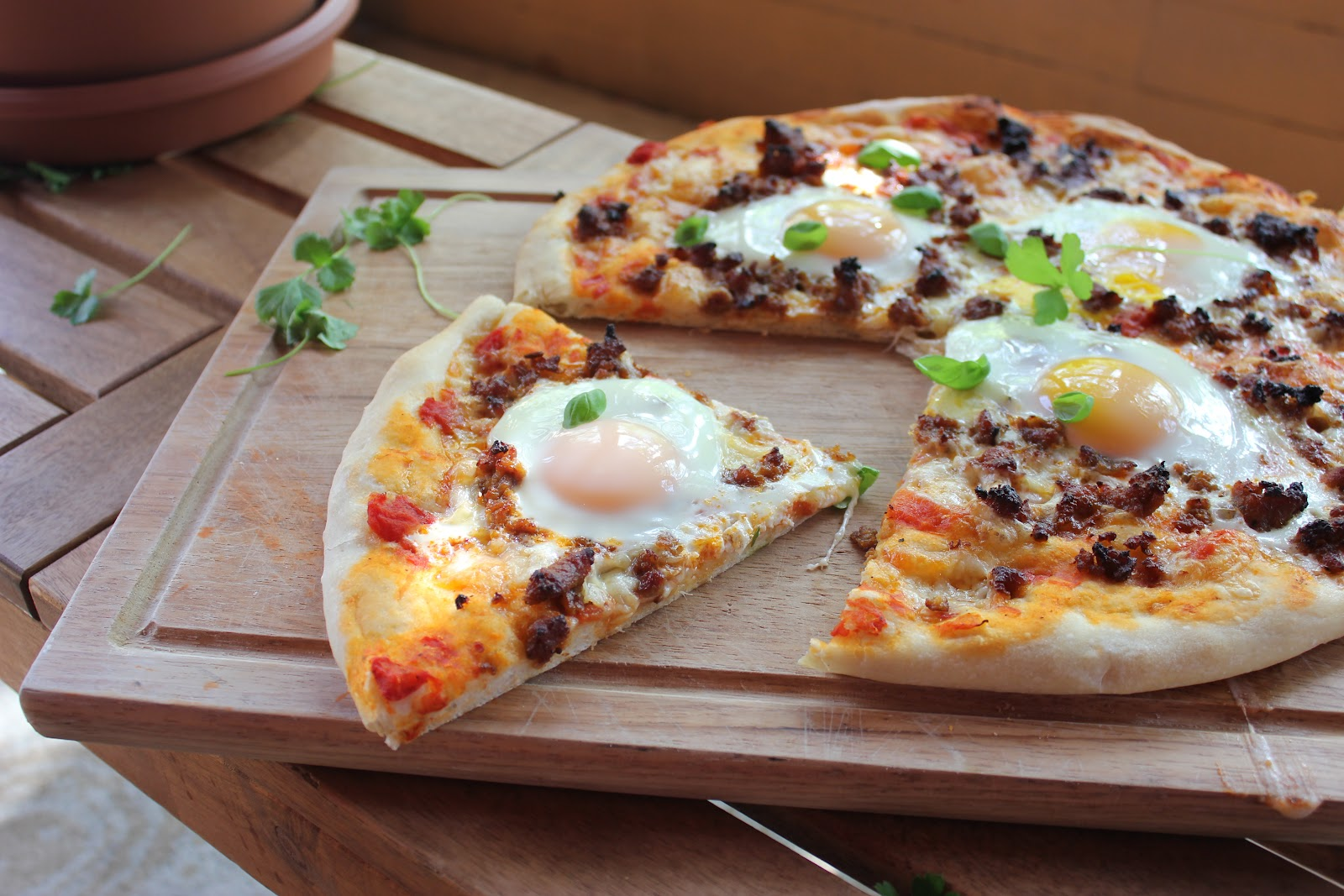 Sweet Frosting: Breakfast Pizza