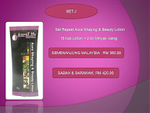 SET REPEAT J ( SET AURA SHAPING & BEAUTY LOTION 15 TIUB )