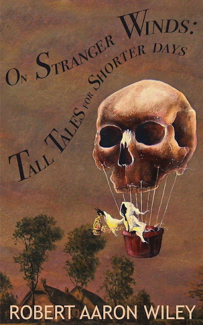 Spooky and humorous collection of short stories  Tall Tales for Shorter Days now offered free or at low cost of $3 with digital version.