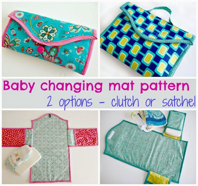 Diaper changing Mat  tutorial