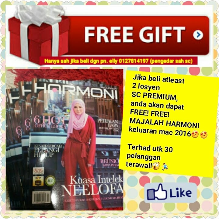 FREE GIFT MENARIK