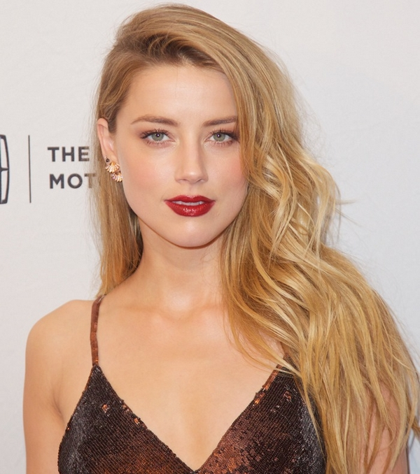 Amber Heard autumn makeup