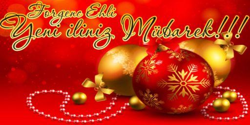 Yeni Iliniz Mübarek! Азербайджанское новогоднее поздравление. Фото