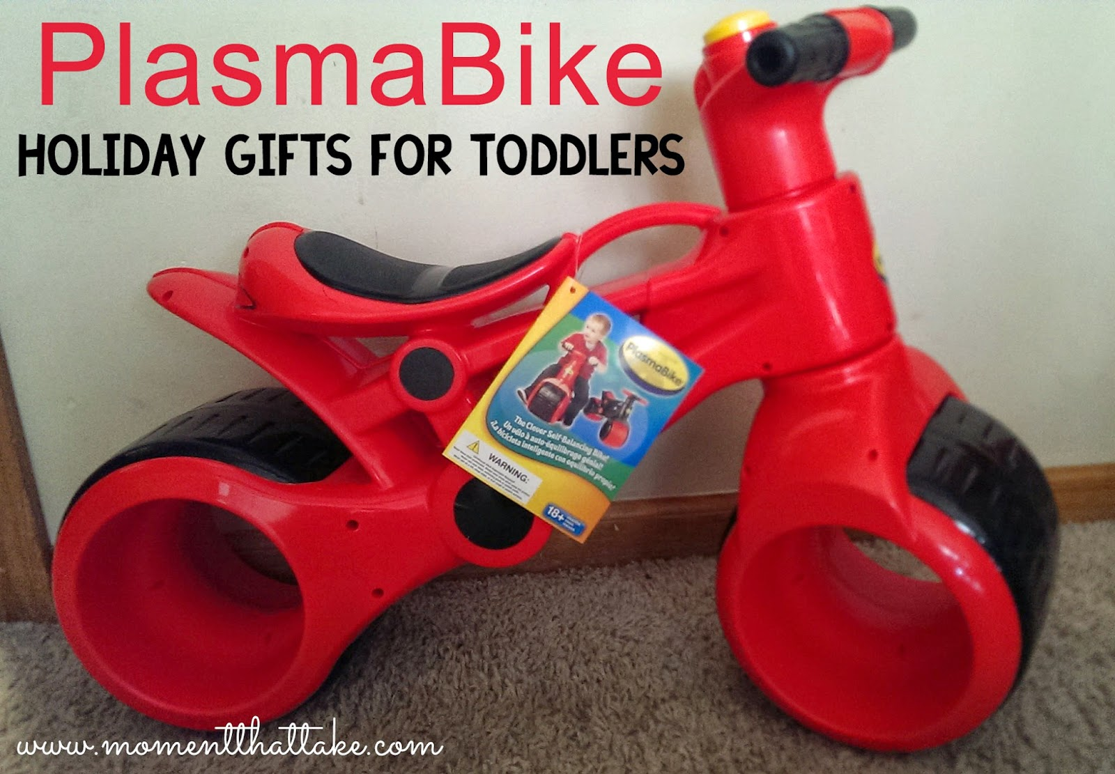 PlasmaBike: The perfect gift for an active toddler!