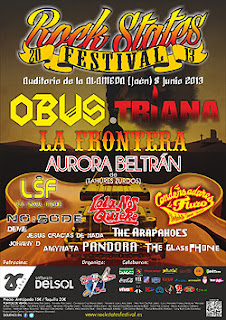 Rock State Festival en junio con Obús, Triana y Aura Beltrán