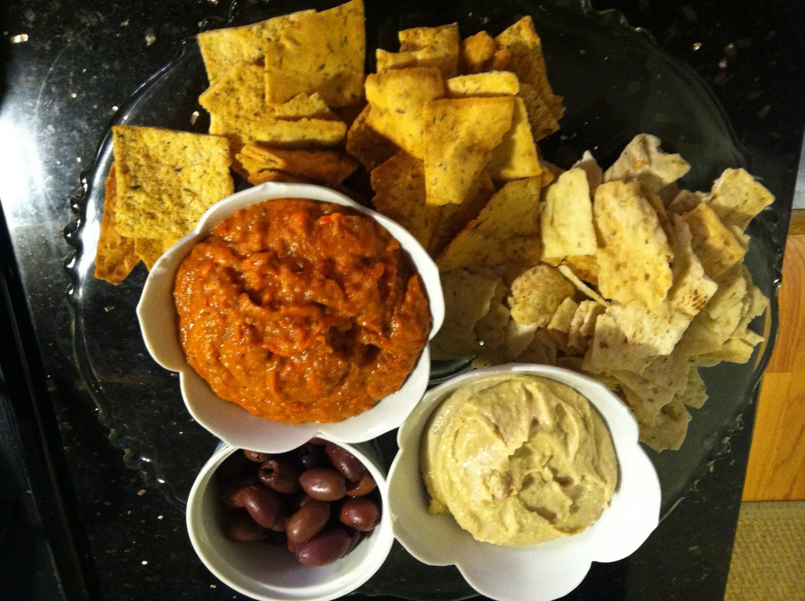 roasted eggplant dip ingredients 1 medium eggplant 2 red bell peppers ...