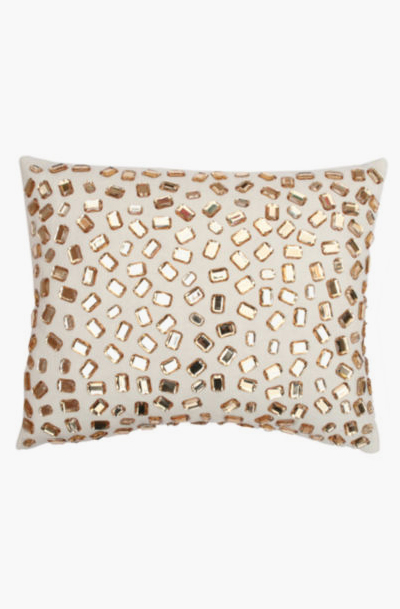 Jcpenney Gold Decorative Pillows : Lovely Clusters Boutique: Andrea Faux-Gemstone Decorative Pillow