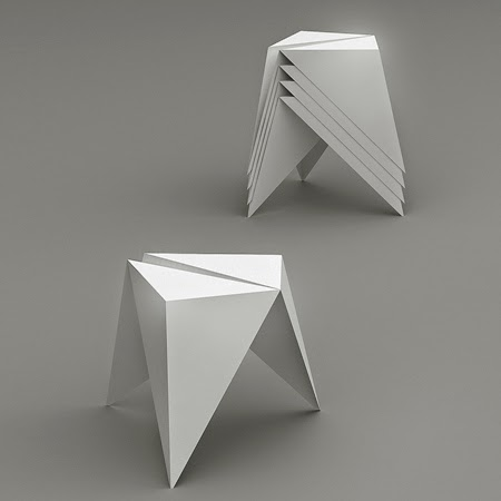 15 Awesome and Coolest Origami Inspired Furniture. - photo#1