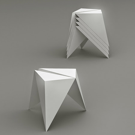 Awesome and Coolest Origami Inspired Furniture (15) 5