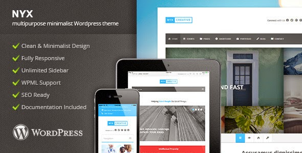 Download NYX - Multipurpose Wordpress Theme