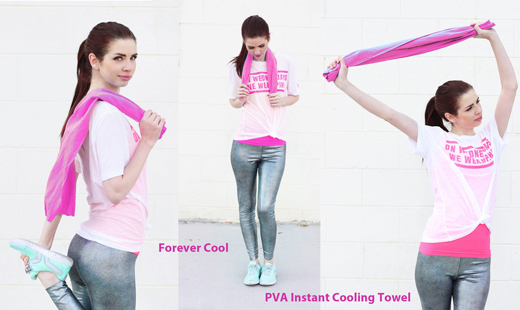 Forever Cool - PVA Instant Cooling Towel