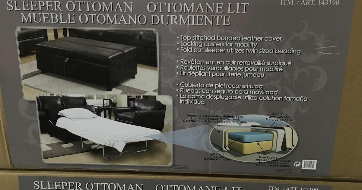Synergy Sleeper Ottoman Costco Weekender