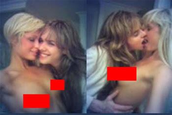 paris hilton having lesbian sex