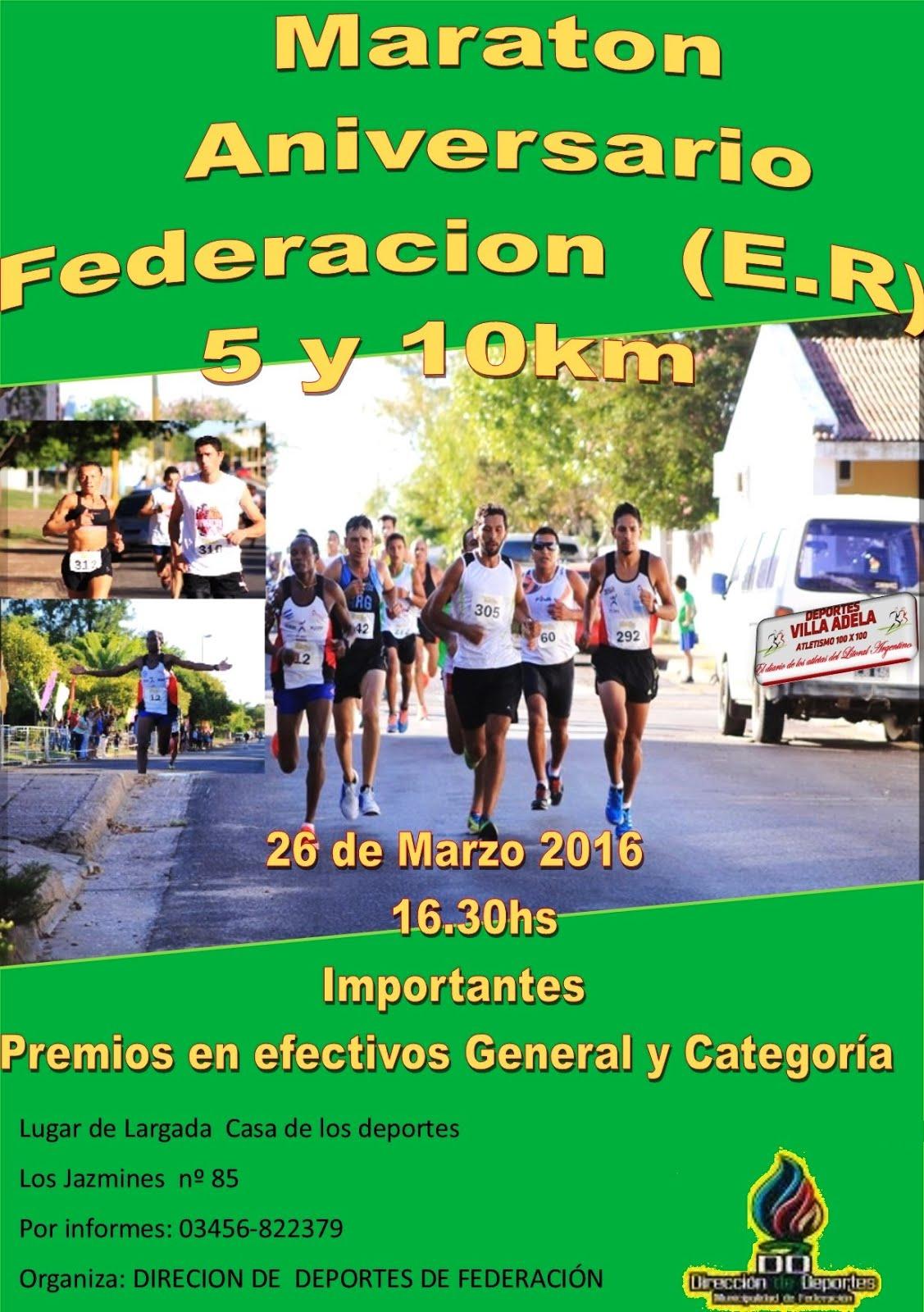 10 KM CIUDAD DE FEDERACION ( ENTRE RIOS)