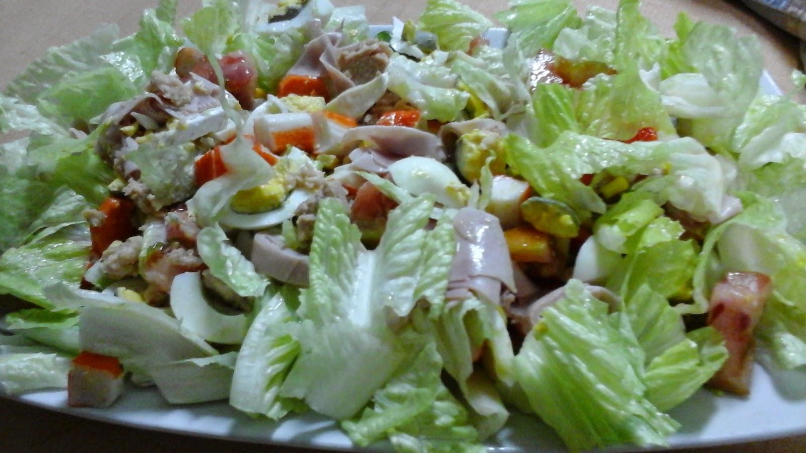 Una yeclana en la cocina ensalada para cenar for Que puedo hacer para cenar