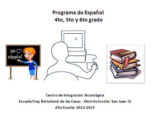 Programa de Español 456to