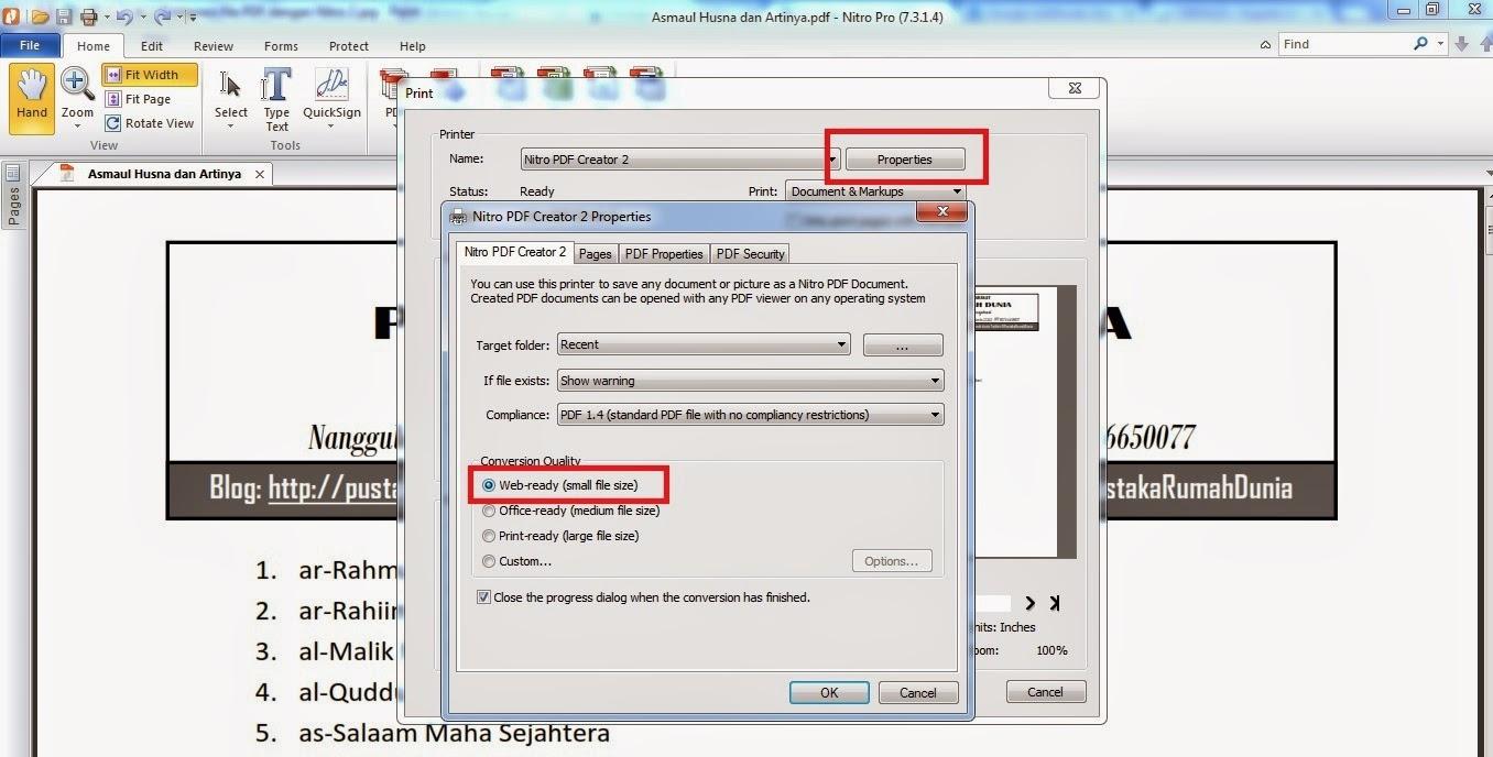 kompres nitro pdf