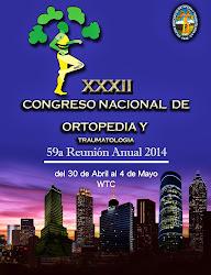 XXXII Congreso Nacional de Ortopedia y Traumatología