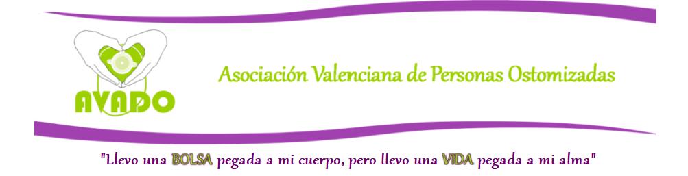 <center>Asociación Valenciana de Personas Ostomizadas</center>