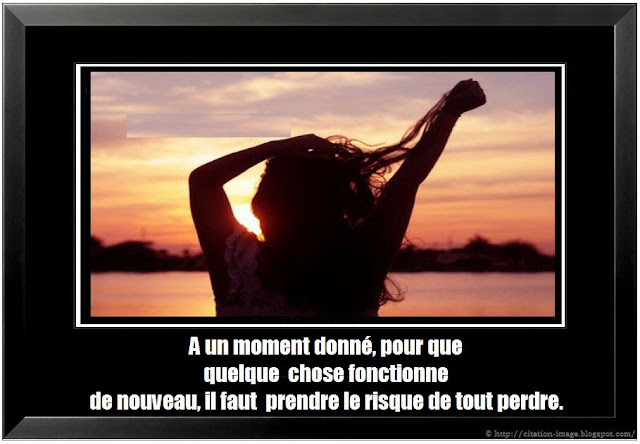 Citation risque en image