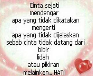 kata kata cinta untuk kekasih tersayang