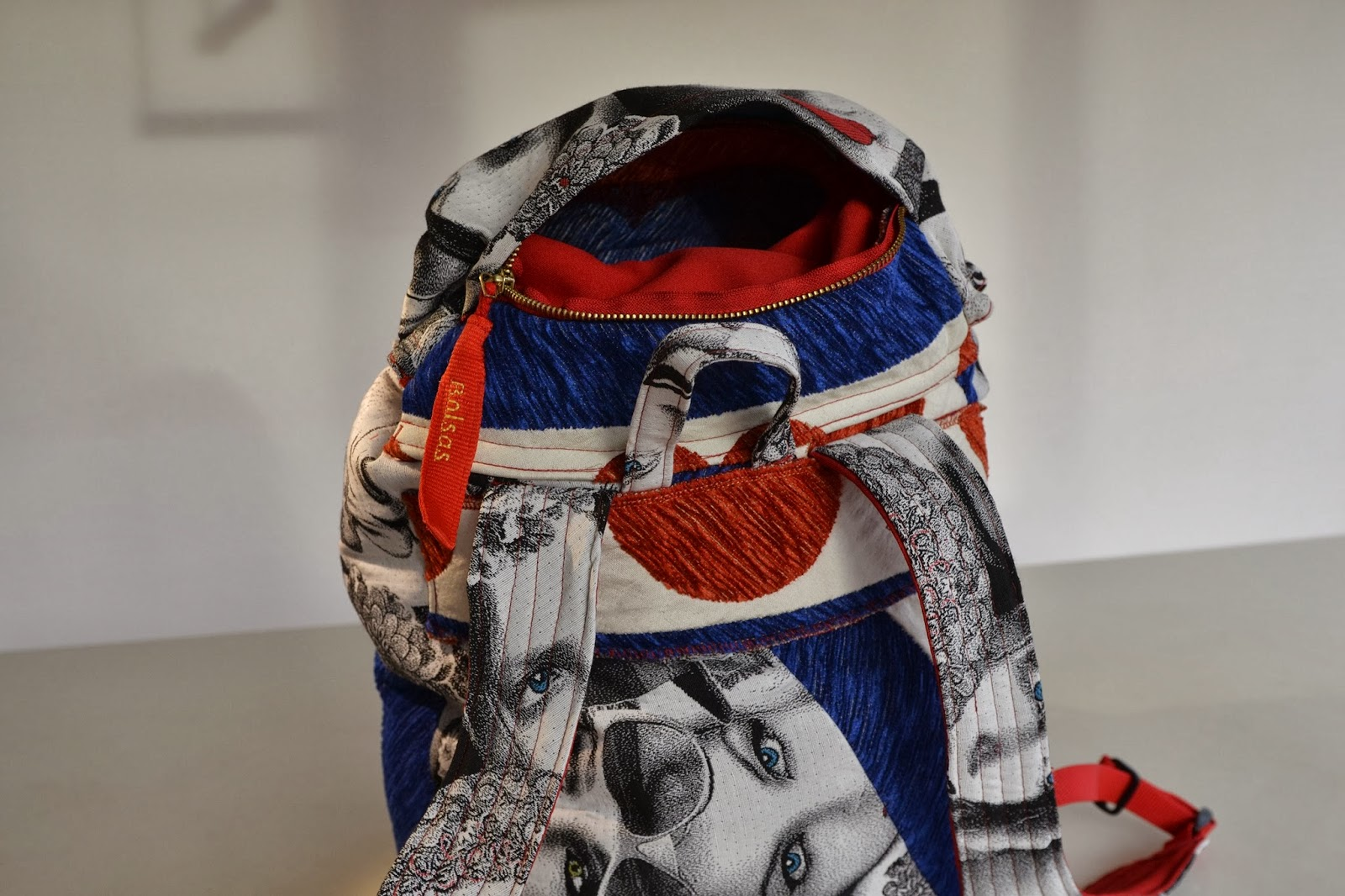 Bolsas-Tassen, unieke handgemaakte tassen, rugzak, blikvanger, eachluker