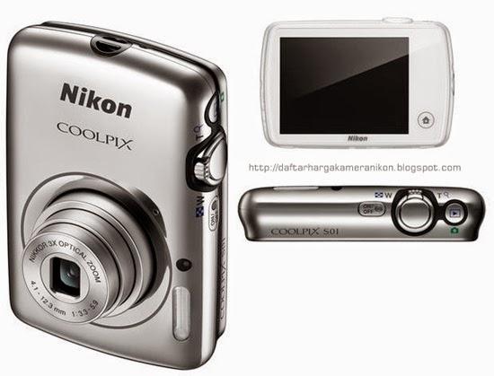 Harga dan Spesifikasi Kamera Nikon Coolpix S01
