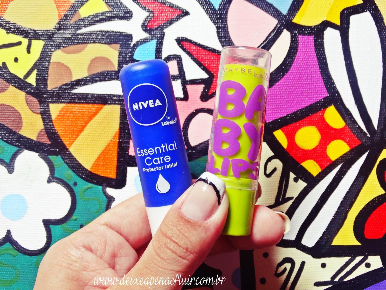 DSC02153 - Batalha dos Lip Balms: Nivea vs Maybelline