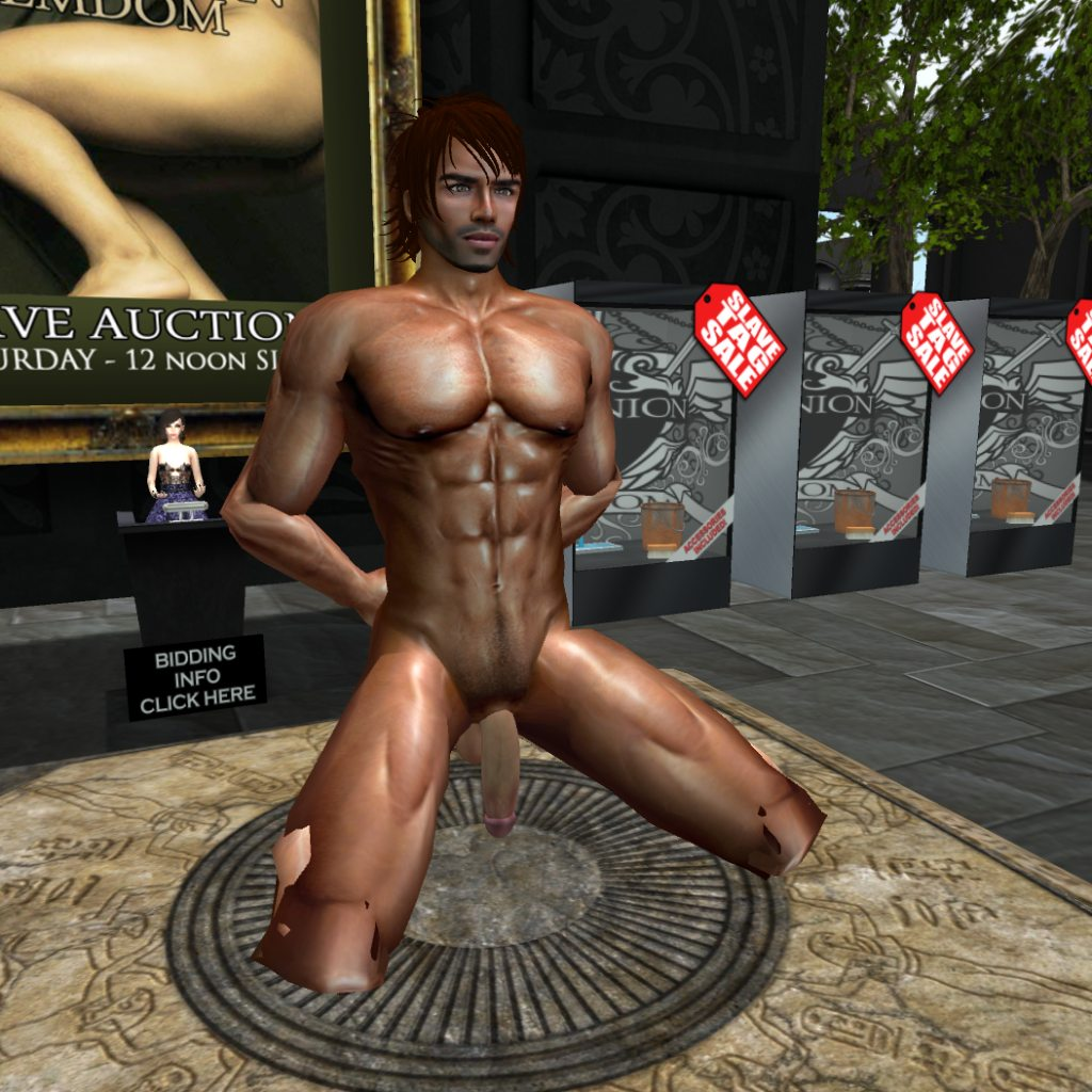 auction Cfnm male slave