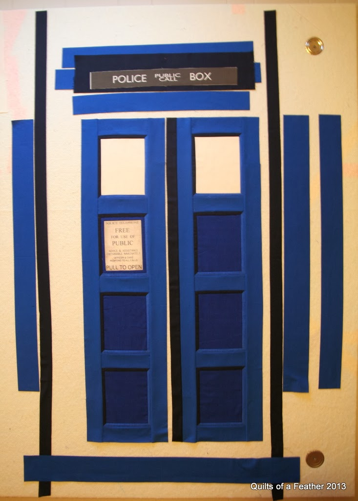 Quilts Of A Feather Tardis Quilt Design