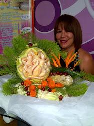 Ponkitos Miel - Fruta tallada